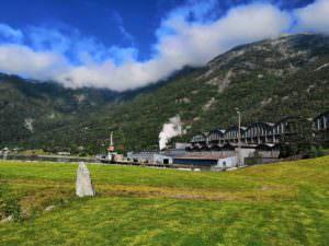 Alvik - die Fabrik
