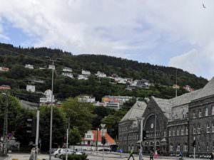 Bergen, trail station
